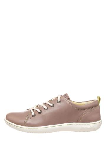 """Birkenstock Skórzane sneakersy """"Islay"""" w kolorze brązowym"""