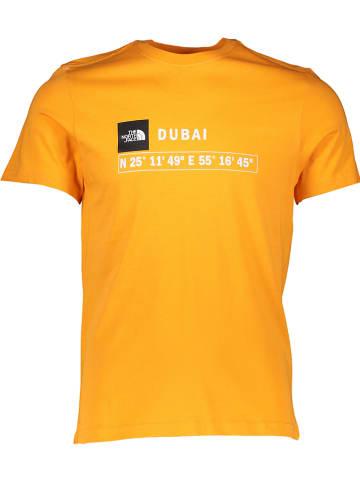 "The North Face Shirt ""GPS"" oranje"