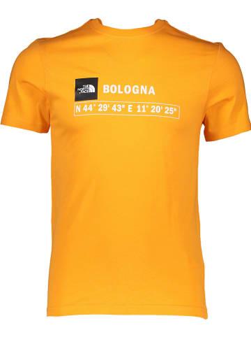 """The North Face Koszulka """"GPS"""" w kolorze pomarańczowym"""