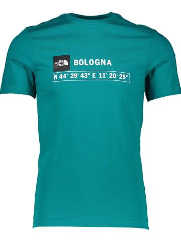"""The North Face Koszulka """"GPS"""" w kolorze zielonym"""