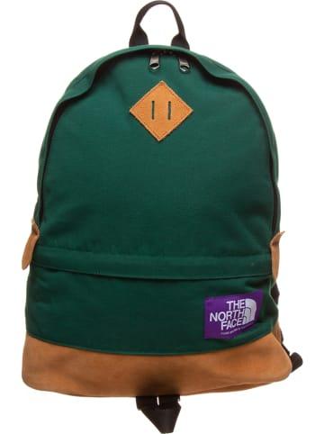 """The North Face Plecak """"Medium Day"""" w kolorze zielonym - 29 x 45 x 12 cm"""