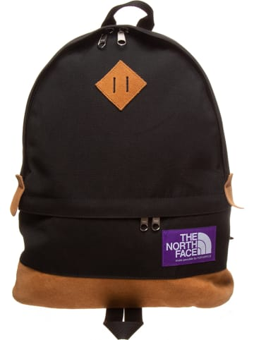 "The North Face Skórzany plecak ""Medium Day"" w kolorze czarnym - 29 x 45 x 12 cm"