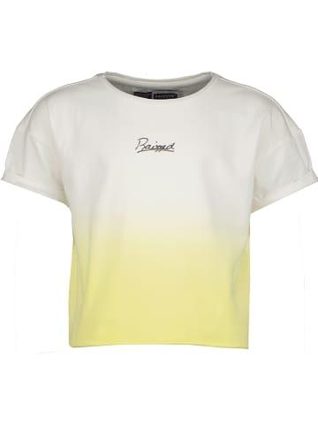 """RAIZZED® Shirt """"Charlotte"""" wit/geel"""