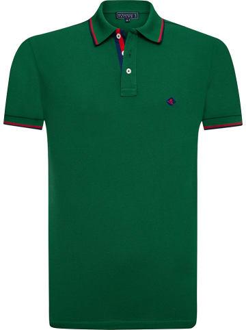 """SIR RAYMOND TAILOR Poloshirt """"Holman"""" groen"""