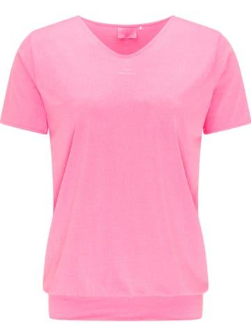 """CURVY FIT BY VENICE BEACH Koszulka sportowa """"Sui"""" w kolorze różowym"""