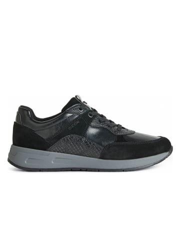 """Geox Sneakersy """"Bulmya"""" w kolorze czarnym"""