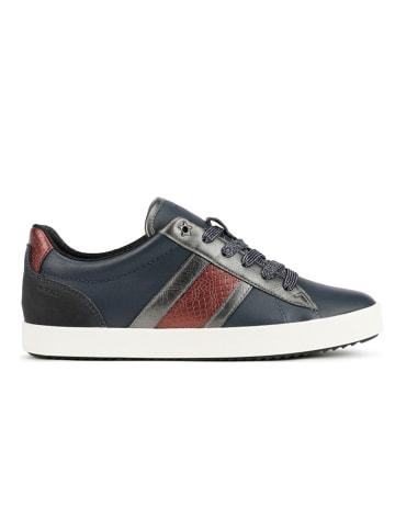 """Geox Sneakersy """"Blomiee"""" w kolorze granatowym"""