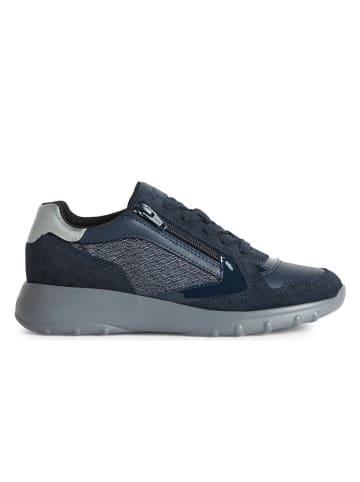 "Geox Sneakers ""Alleniee"" donkerblauw"