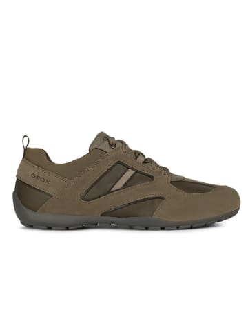 "Geox Sneakersy ""Ravex"" kolorze khaki"