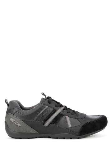 """Geox Sneakersy """"Ravex"""" w kolorze czarnym"""