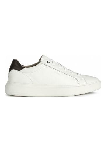 """Geox Leren sneakers """"Deiven"""" wit"""