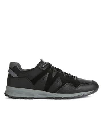 """Geox Sneakersy """"Delray"""" w kolorze czarnym"""