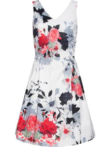 Smashed Lemon Sukienka w kolorze czarno-czerwono-białym