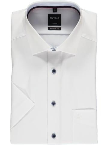 """OLYMP Koszula """"Luxor"""" - Modern fit - w kolorze białym"""