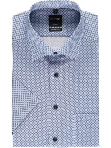 """OLYMP Koszula """"Luxor"""" - Modern fit - w kolorze błękitnym"""