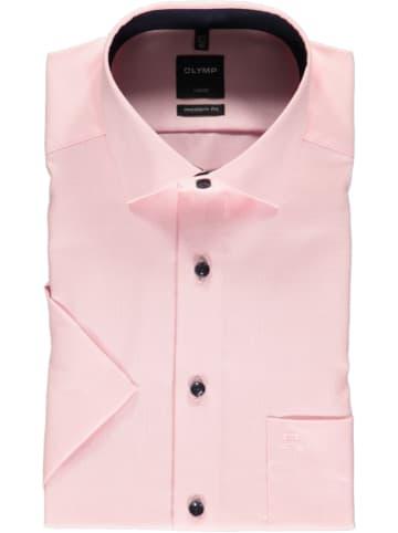 """OLYMP Koszula """"Luxor"""" - Modern fit - w kolorze jasnoróżowym"""