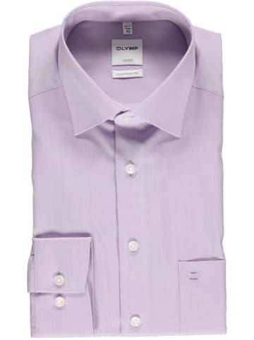 "OLYMP Koszula ""Luxor"" - Comfort fit - w kolorze fioletowym"
