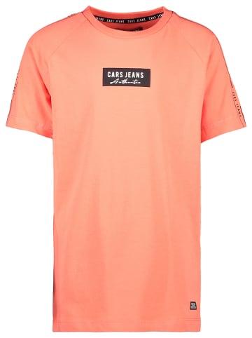 "Cars Shirt ""Yells"" in Orange"
