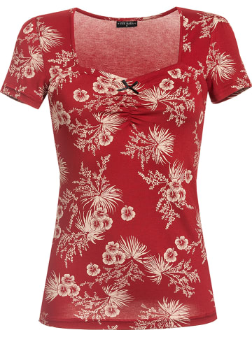 Vive Maria Shirt rood/crème