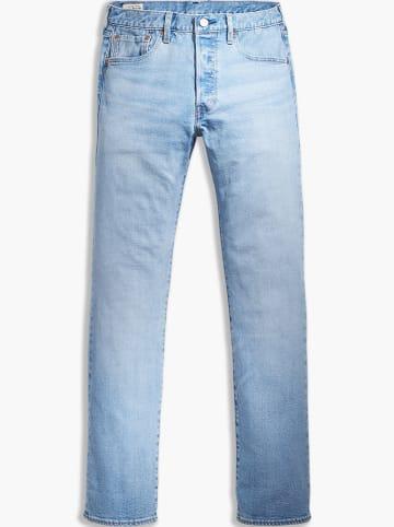 """Levi´s Dżinsy """"501"""" - Straight fit - w kolorze błękitnym"""