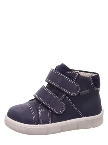 "Superfit Leder-Sneakers ""Ulli"" in Dunkelblau"