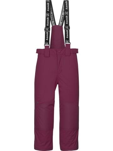 """Kamik Spodnie narciarskie """"Harper"""" w kolorze fioletowym"""