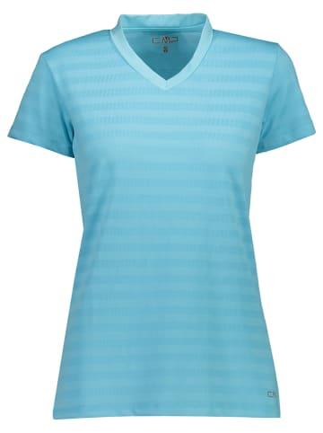 CMP Koszulka sportowa w kolorze błękitnym