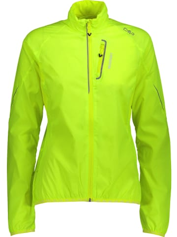 CMP Kurtka w kolorze zielonym do biegania