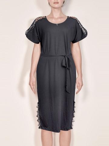 Diamor Nachthemd zwart