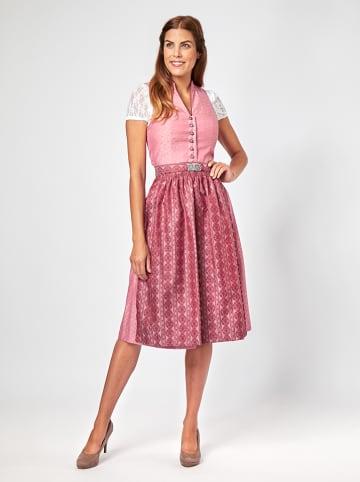 """Turi Landhaus Dirndl """"Barbara"""" in Pink/ Rot"""