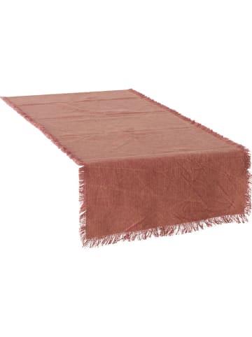 "Boltze Tafelloper ""Lenea"" rood - (L)140 cm"