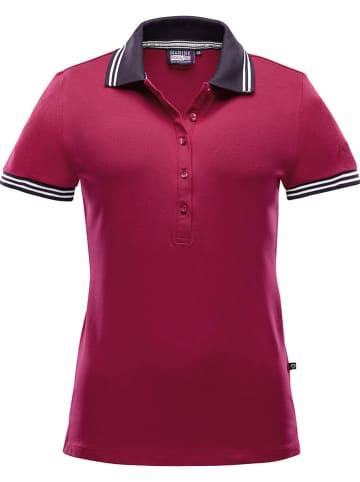 "MARINEPOOL Poloshirt ""Dragon Polo Man"" bordeaux"