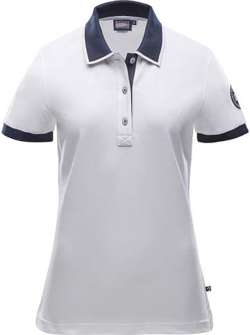 """MARINEPOOL Koszulka polo """"Ivy"""" w kolorze białym"""