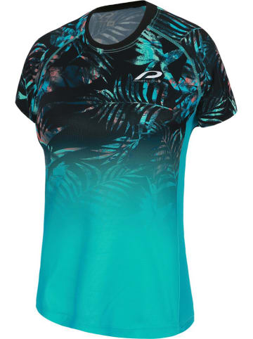 "Protective Fietsshirt ""Greenthumb"" turquoise"