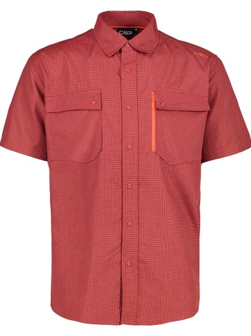 CMP Koszula funkcyjna w kolorze czerwonym