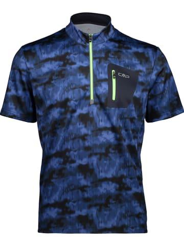 CMP Fietsshirt donkerblauw