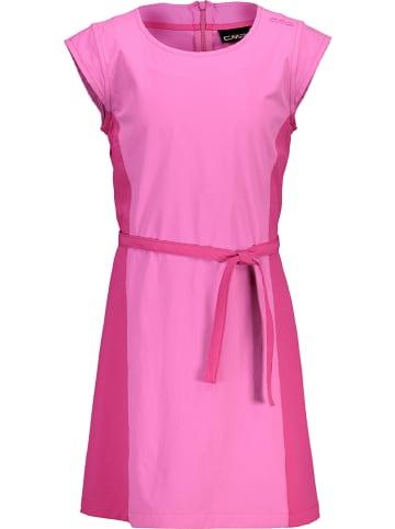 CMP Sukienka sportowa w kolorze różowym