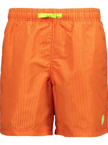 CMP Szorty kąpielowe w kolorze pomarańczowym