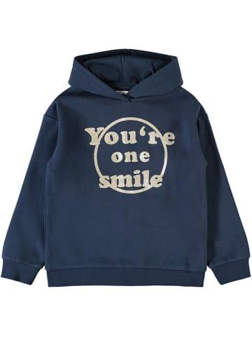 "Name it Sweatshirt ""Kenzi"" in Dunkelblau"