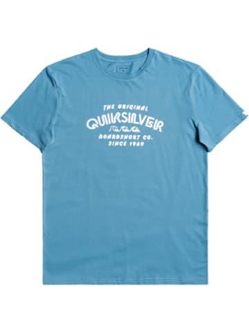 "Quiksilver Koszulka ""Wider Mile"" w kolorze turkusowym"