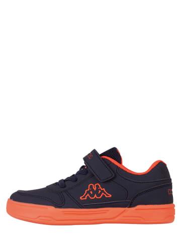 "Kappa Sneakers ""Dalton Ice BC K"" oranje/donkerblauw"