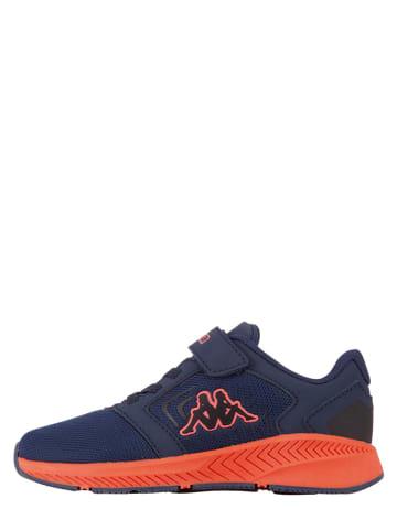 """Kappa Sneakers """"Palca K"""" donkerblauw/rood"""