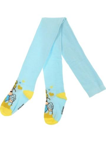 Disney Princess Rajstopy w kolorze błękitnym