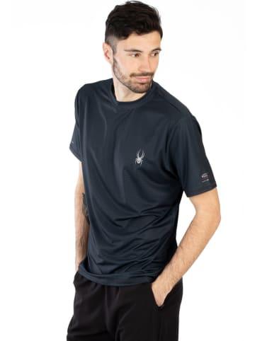 SPYDER Koszulka sportowa w kolorze czarnym