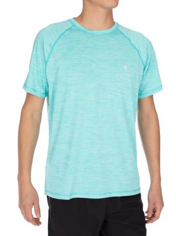 SPYDER Trainingsshirt turquoise