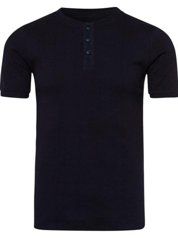 Cross Jeans Shirt donkerblauw