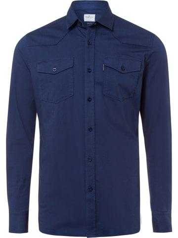 Cross Jeans Koszula - Slim fit - w kolorze granatowym