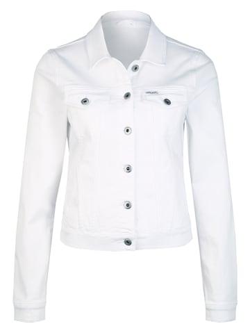 Cross Jeans Kurtka dżinsowa w kolorze białym