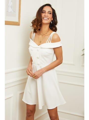 L'armoire de Suzette Sukienka w kolorze białym