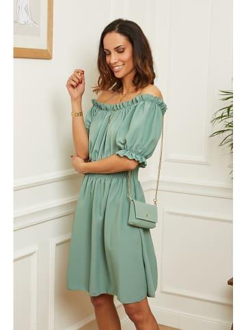 L'armoire de Suzette Sukienka w kolorze zielonym